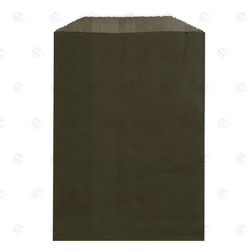 "1# Black Gourmet Glassine Bags 4.75 x 6.75"" (1000/case)"