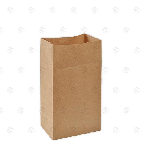"""6 9/16"""" x 4 1/16"""" x 13 3/16"""" #10 Kraft Bag 400 pc./Case"""