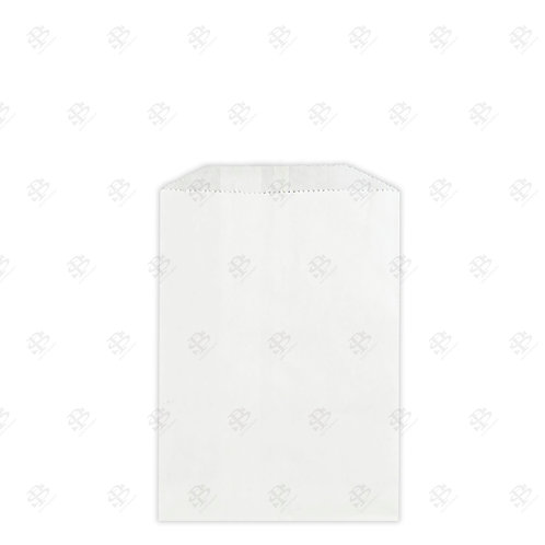 "1/4# White Gourmet Glassine Bags 4.75 x 6.75"" (1000/case)"