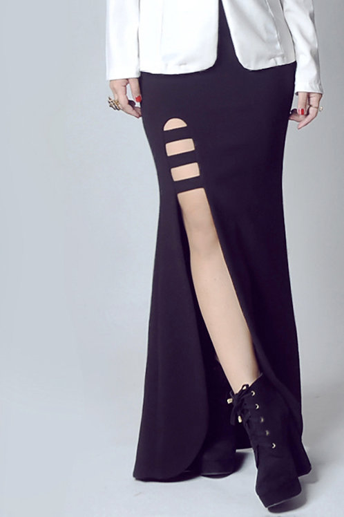 Cutout maxi skirt (SOLD OUT)