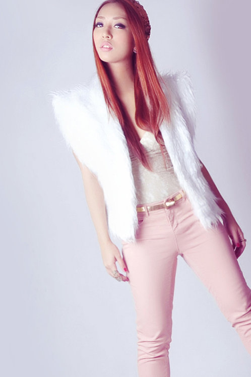 Faux fur vest (SOLD OUT)