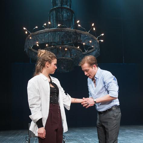 Regie: Till Weinheimer Musik: Chris Weinheimer  Foto: Nadine Aßmann als Amalia Marcel Kaiser als Franz