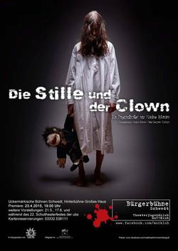 2015 - Plakat - Die Stille und der Clown