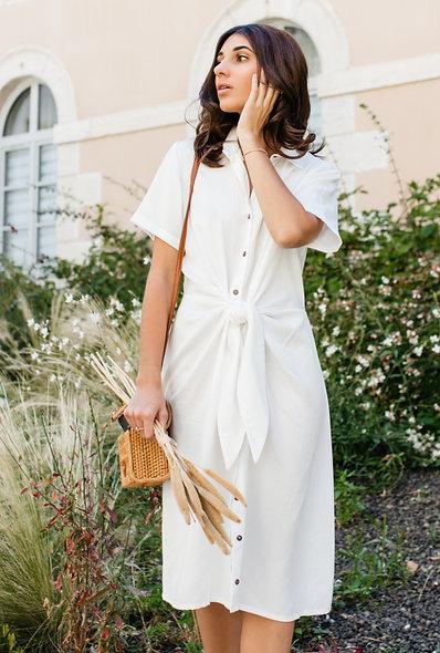 Robe Bérénice - Blanc