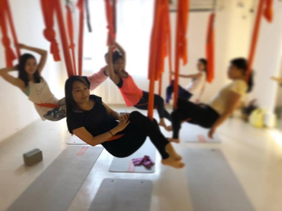 Aerial Yoga/ 空中瑜伽