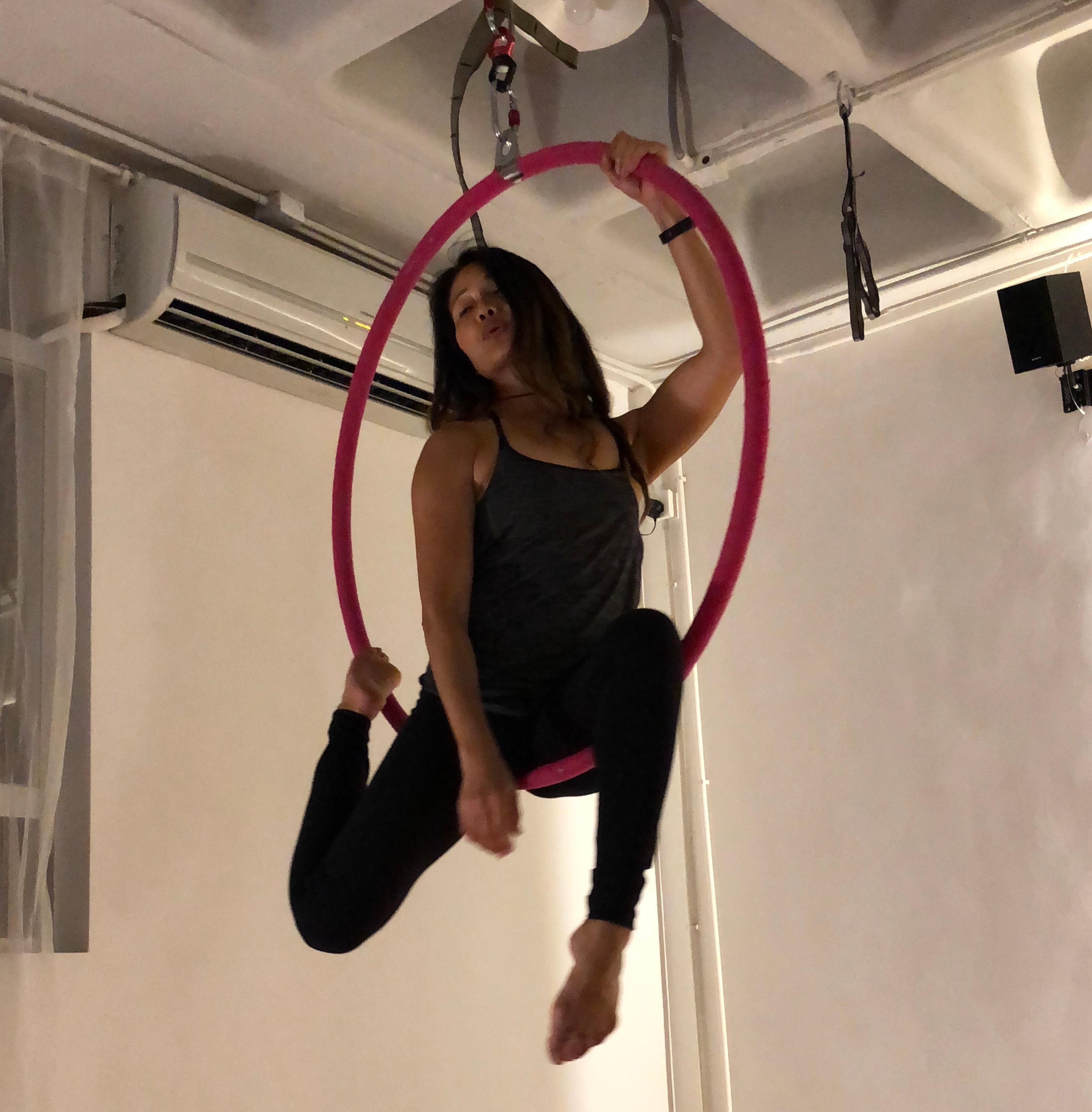 Aerial Hoop /空中呼拉圈