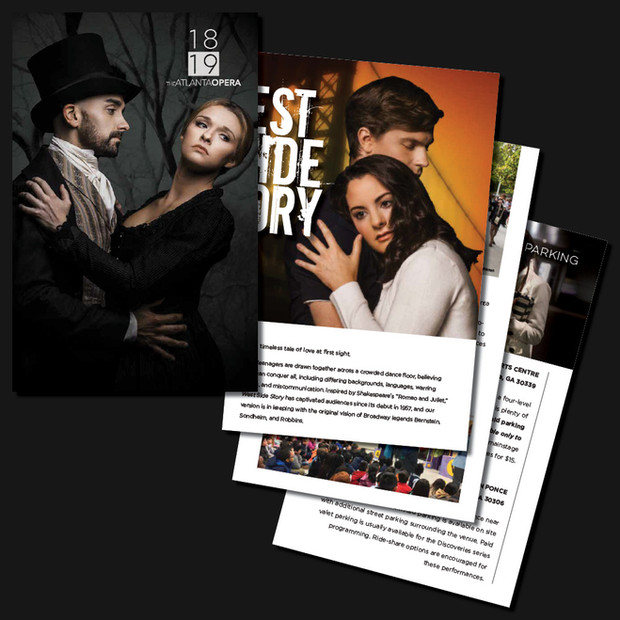 2018-19 Season Brochure