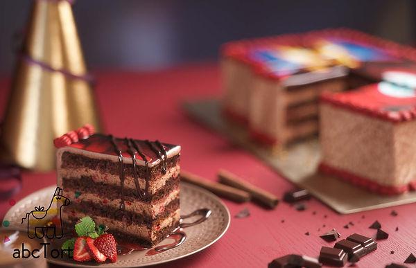 Шоколадный торт на заказ