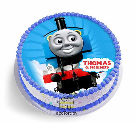 Торт на заказ - Паровозик Томас