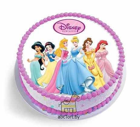 Торт на заказ - Принцессы