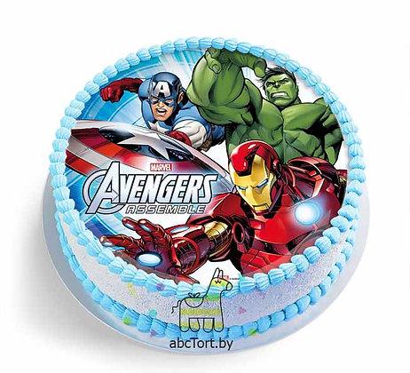 Торт на заказ - Мстители
