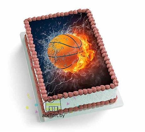 Торт на заказ для Баскетболиста