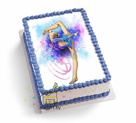 Торт на заказ - Художественная Гимнастика
