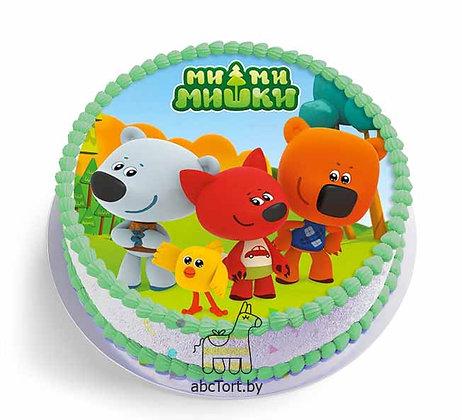 Детский торт - Ми Ми Мишки