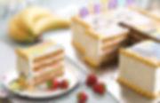 Медовый торт с клубникой на заказ