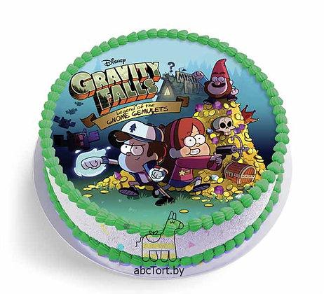 Торт на заказ - Гравити Фолз