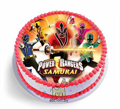 Торт на заказ - Рейнджеры Самураи