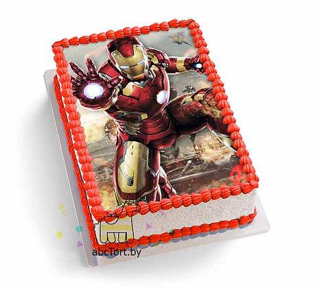 Торт на заказ - Железный человек