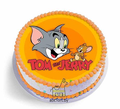 Торт на заказ - Том и Джери
