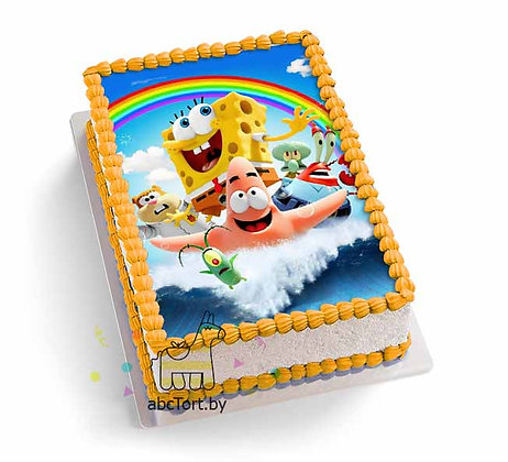 Торт на заказ - Спанч Боб