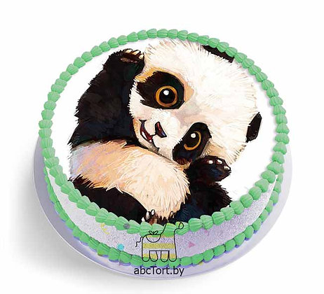 Детский торт с медвежонком Панда