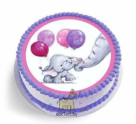 Торт на заказ - Слонёнок