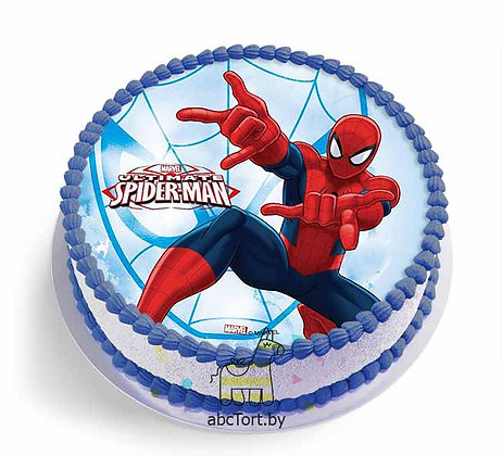 Торт на заказ - Человек Паук