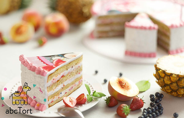Фруктовый торт на заказ