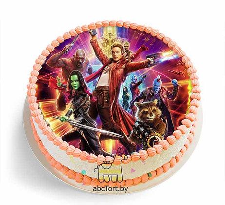 Торт на заказ - Стражи Галактики