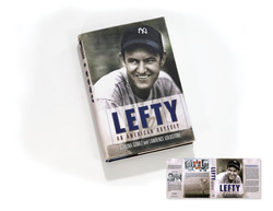 Lefty Book Cover and Wrap