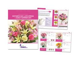 1-800-Flowers catalog design