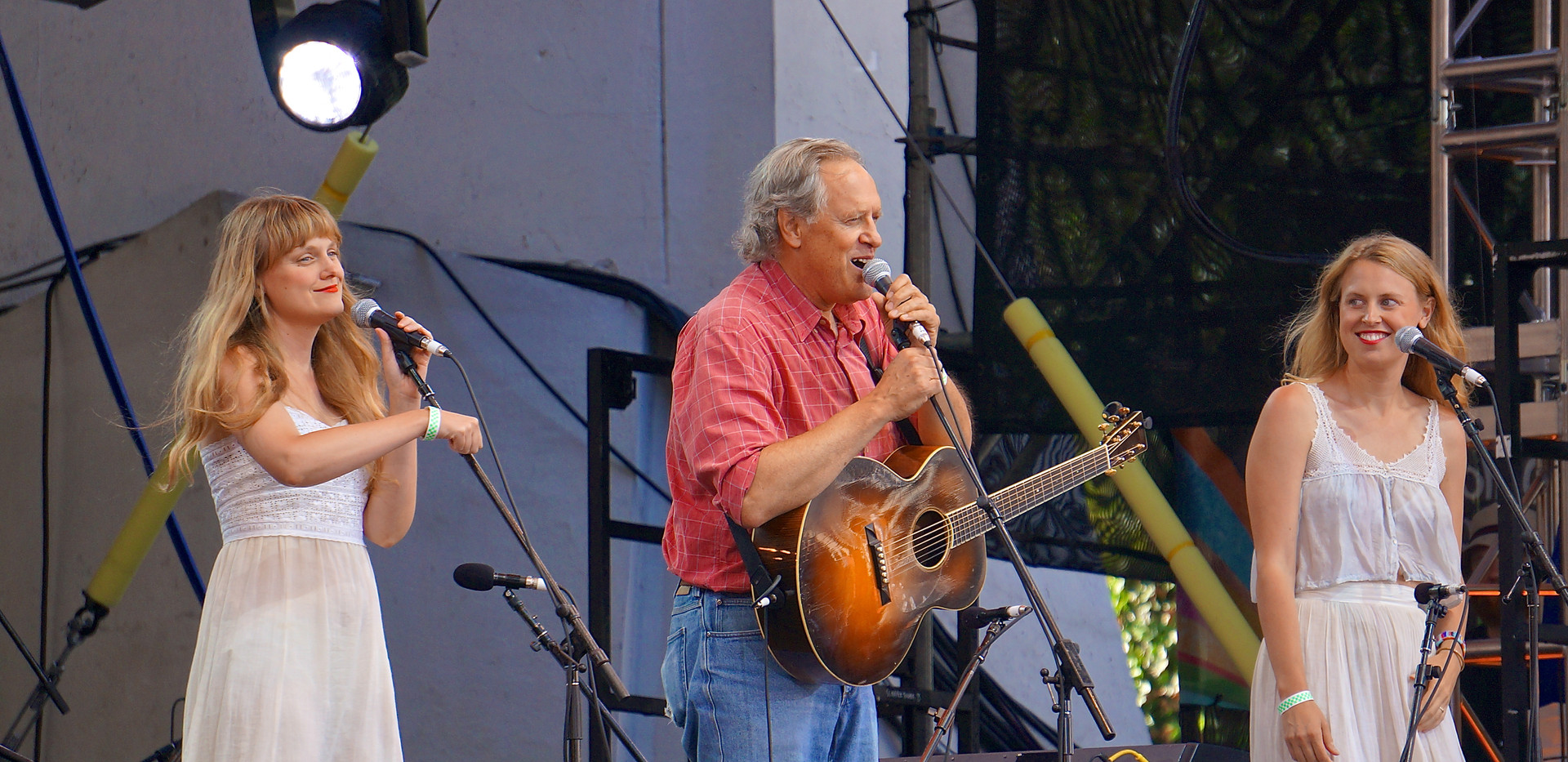 July 22, Tom Chapin with Chapin Sisters