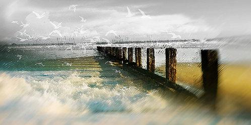 Les brises lames de St Malo
