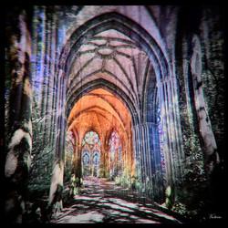 chemin vers la lumière - Pontmain