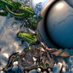 La mare bleue et l'esprit de l'Eau