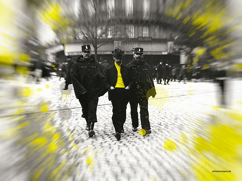 Yellow zone - Apache de Paris