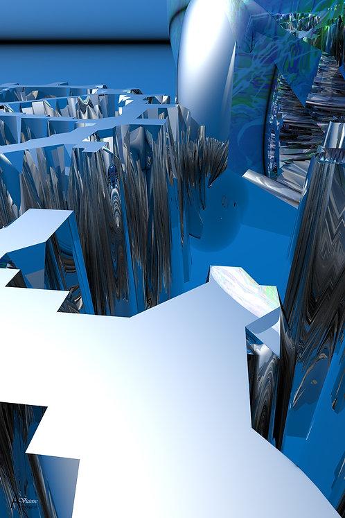Le labyrinthe bleu