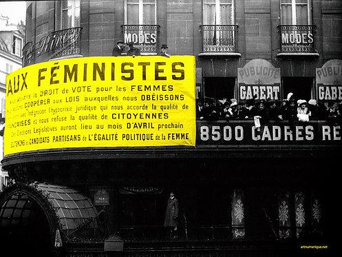 Yellow zone - suffragette