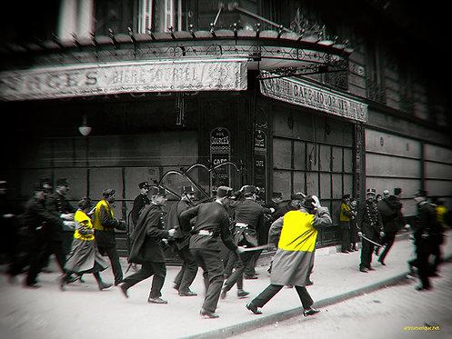 Yellow zone - affrontements