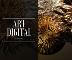 Victoire, art digital