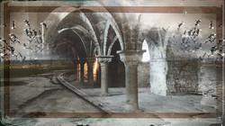 Les gros piliers- Le Mont-Saint-Michel