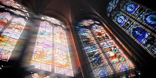 Vitraux - Notre Dame de Pontmain