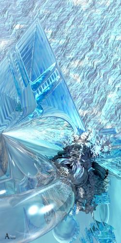 Cristal et givre