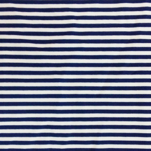 Stripes Blue/White print