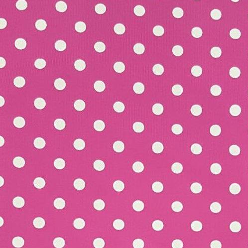 White dot/Pink print