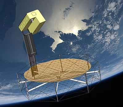 Deployable Satellite Antenna