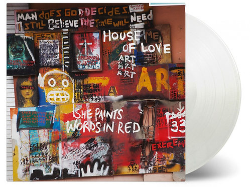 HOUSE OF LOVE - SHE PAINTS WORDS IN RED (COLOURED VINYL)