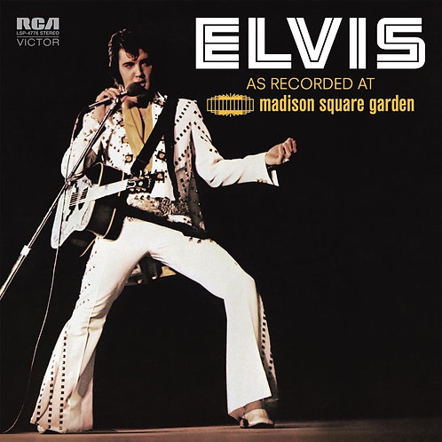 PRESLEY, ELVIS  - AS RECORDED AT MADISON SQUARE GARDEN