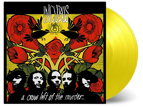 INCUBUS - A CROW LEFT OF THE MURDER (COLOURED VINYL)