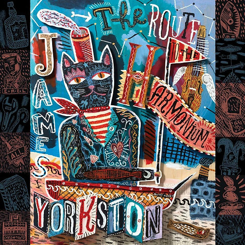 YORKSTON, JAMES - ROUTE TO THE HARMONIUM (COLOURED VINYL)